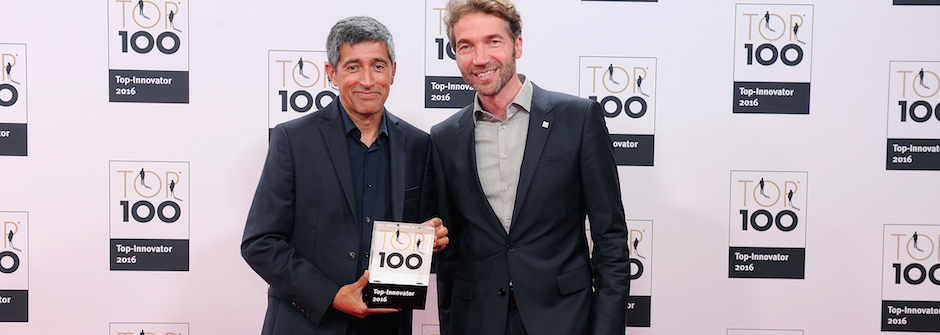 Auszeichnung mit dem TOP 100-Siegel